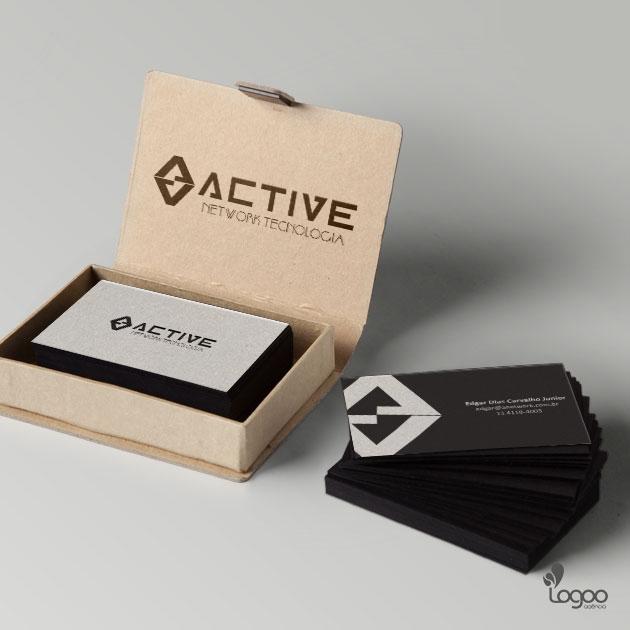 Desenvolvimento de Logotipo / Logomarca / Papelaria / Identidade Visual para ACTIVE NETWORK TECNOLOGIA LTDA