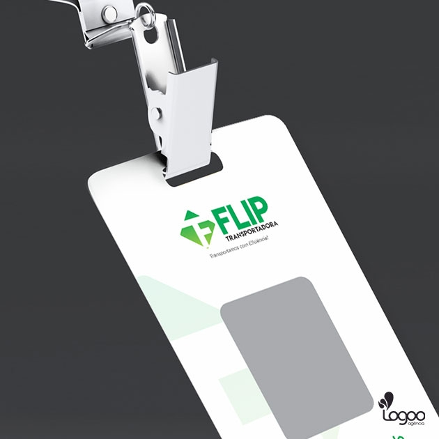 Desenvolvimento de Logotipo / Logomarca / Papelaria / Identidade Visual para TRANSPORTADORA FLIP
