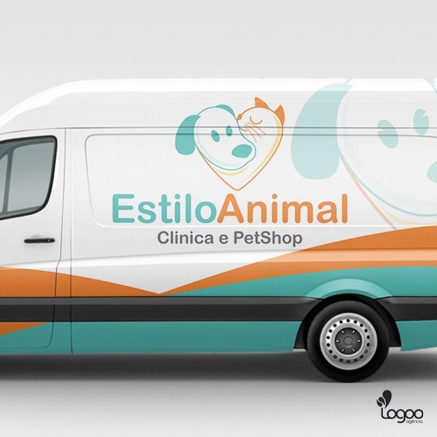 Desenvolvimento de Logotipo / Logomarca / Papelaria / Identidade Visual para Estilo Animal - Clínica e Pet Shop