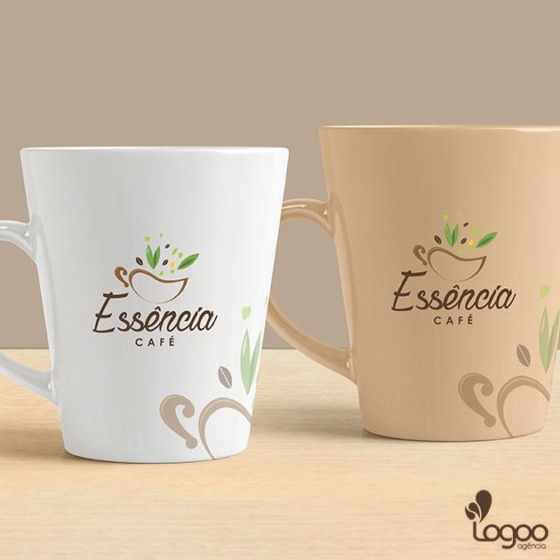 Desenvolvimento de Logotipo / Logomarca / Papelaria / Identidade Visual para Essência Café