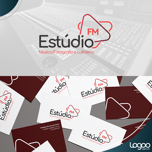 Desenvolvimento de Logotipo / Logomarca / Papelaria / Identidade Visual para Estudio FM
