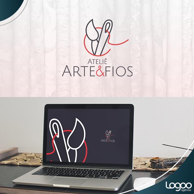 Desenvolvimento de Logotipo / Logomarca / Papelaria / Identidade Visual para Ateliê Arte & Fios