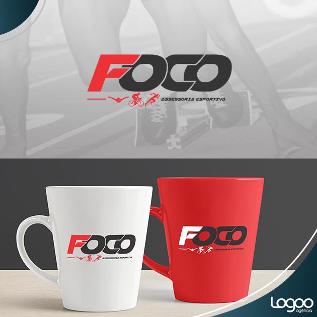 Desenvolvimento de Logotipo / Logomarca / Papelaria / Identidade Visual para FOCO ASSESSORIA ESPORTIVA