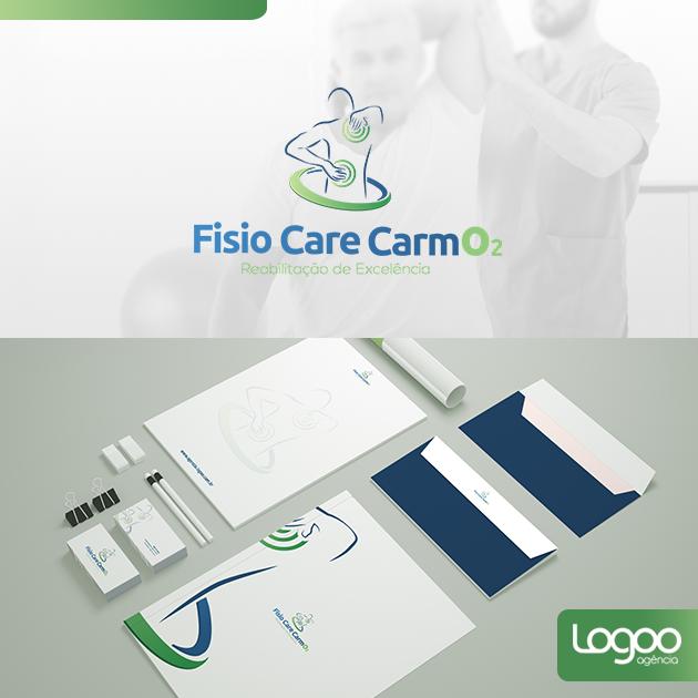 Desenvolvimento de Logotipo / Logomarca / Papelaria / Identidade Visual para Fisio Care Carmo