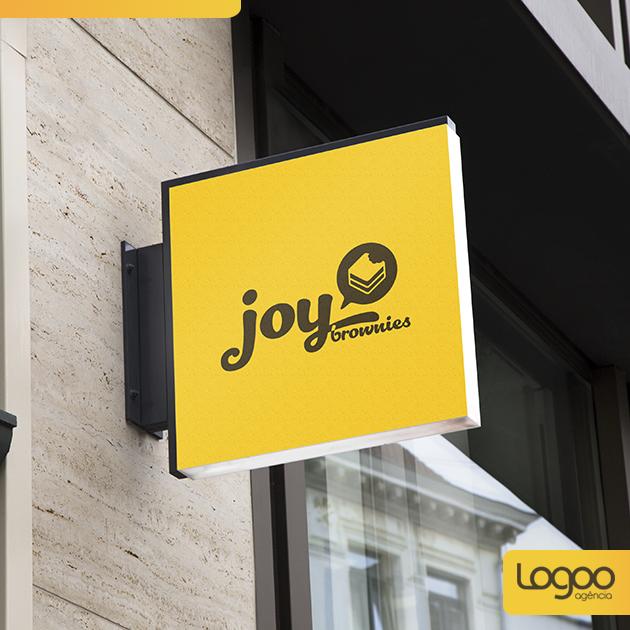 Logotipo - Papelaria -  Multimídia para Joy Brownie