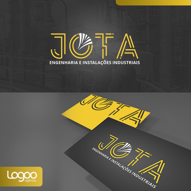 Logotipo - Papelaria -  Multimídia para JOTA ENGENHARIA E INSTALAÇÕES INDUSTRIAIS