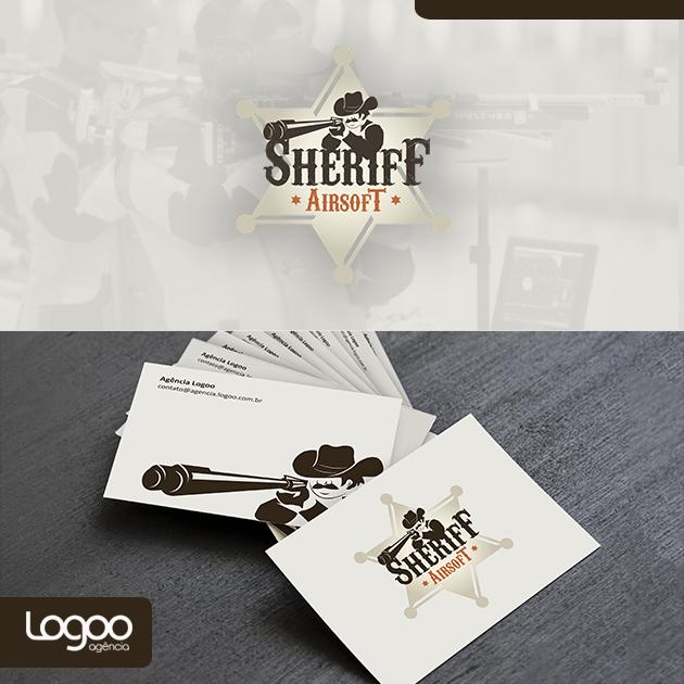 Logotipo - Papelaria -  Multimídia para Sherif Airsoft